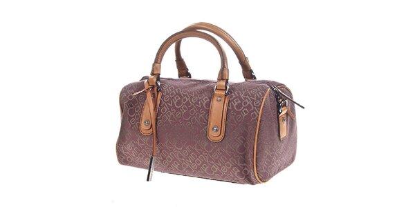 Dámská podlouhlá kabelka s nápisem Calvin Klein