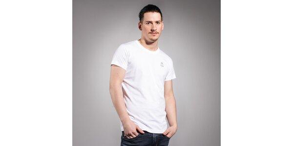 Pánské bílé triko Diesel