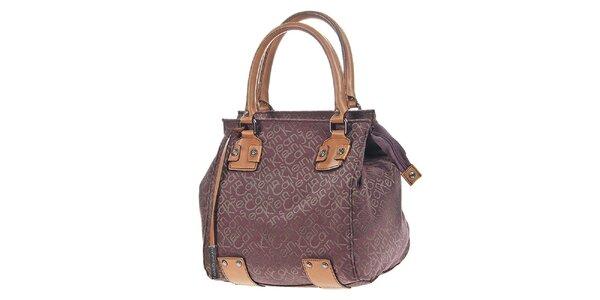 Dámská kabelka s potiskem a visačkou Calvin Klein
