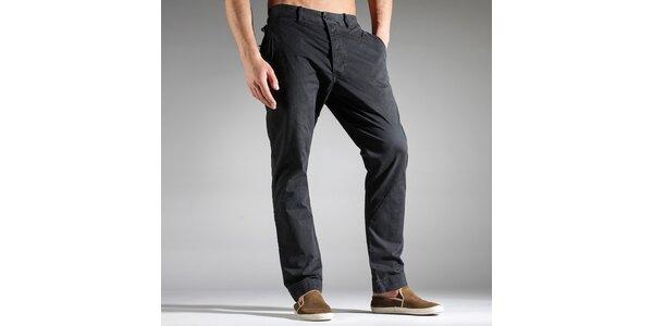 Pánské tmavě šedé kalhoty Diesel