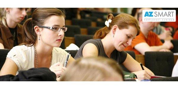 Intenzivní přípravný kurz k přijímačkám na VŠ