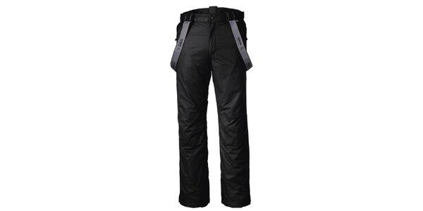 Pánské funkční černé lyžařské kalhoty Maier