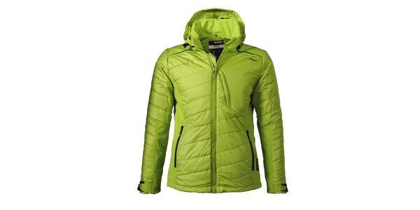 Pánská zelená lyžařská bunda Maier