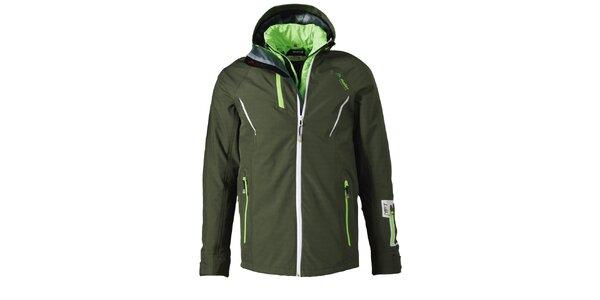 Pánská khaki funkční zimní bunda Maier