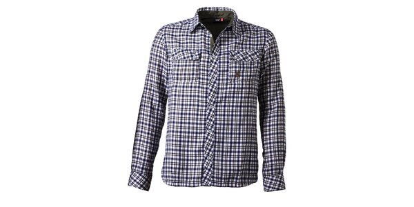 Pánská kostkovaná košile s náprsními kapsami Maier