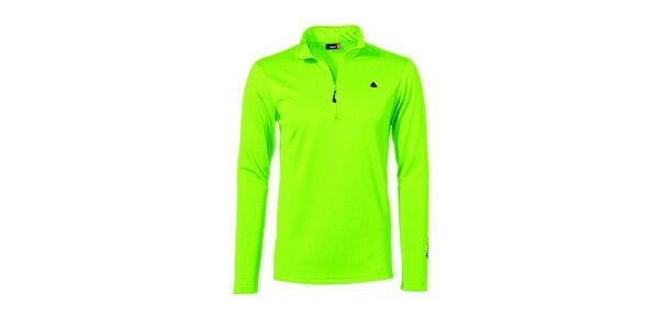 Pánská světle zelená sportovní mikina Maier