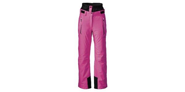 Dámské zářivě růžové lyžařské kalhoty Maier