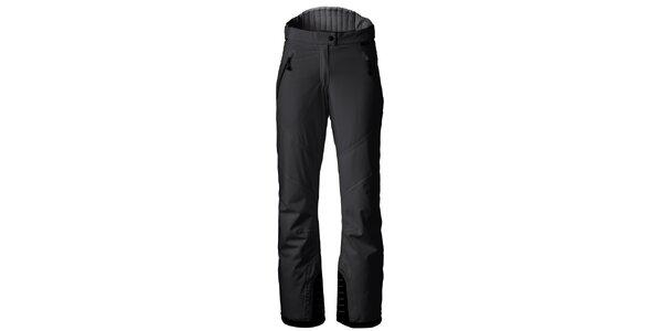 Dámské černé lyžařské kalhoty s kontrastními lemy Maier