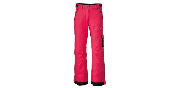 Dámské červené lyžařské kalhoty Maier