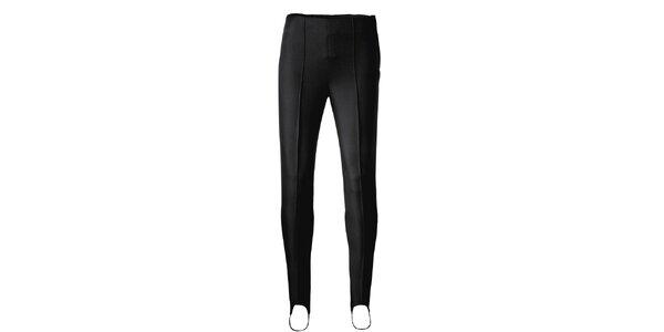 Dámské černé elastické kalhoty Maier