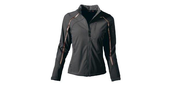 Dámská černá softshellová bunda Maier