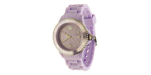 Dámské šeříkové hodinky Jet Set