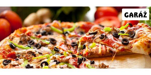 DVĚ vynikající pizzy dle výběru v restauraci Garáž!