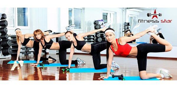 6 vstupů na cvičení ve Fitness Star či 60 min ping pongu