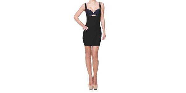 Dámské černé stahovací šaty My Shapes