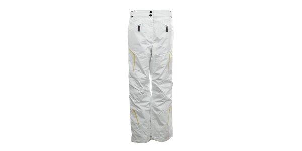 Dámské bílé lyžařské kalhoty se žlutými prvky Northland Professional