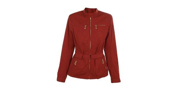Dámská červená bunda s páskem Northland Professional