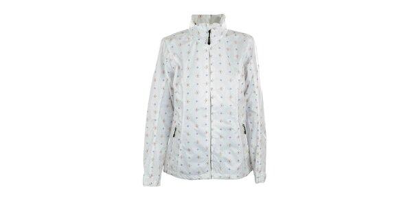 Dámská lehká bílá bunda s potiskem Northland Professional