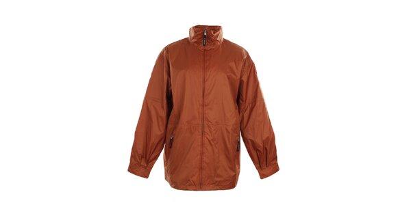 Pánská lehká oranžová bunda do deště Northland Professional