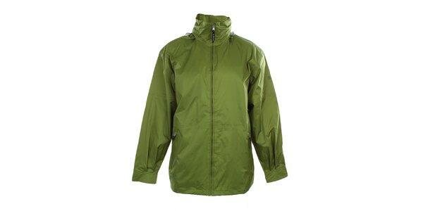 Pánská lehká zelená bunda do deště Northland Professional
