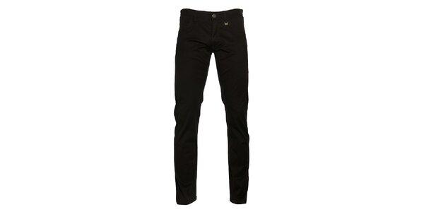 Pánské černé kalhoty Pietro Filipi
