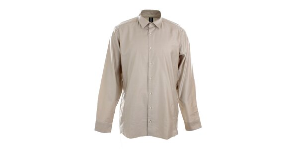 Pánská béžovo-šedá košile Pietro Filipi