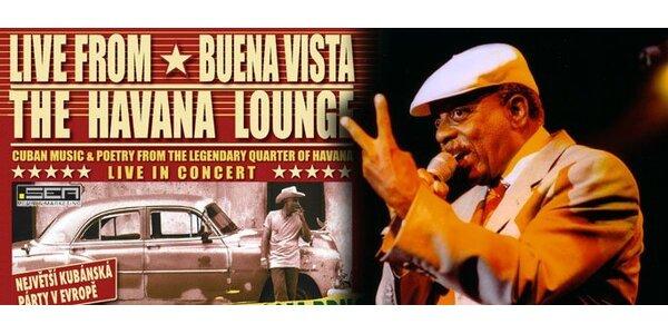 490 Kč za koncert Live from Buena Vista The Havana Lounge. SLEVA 43%!