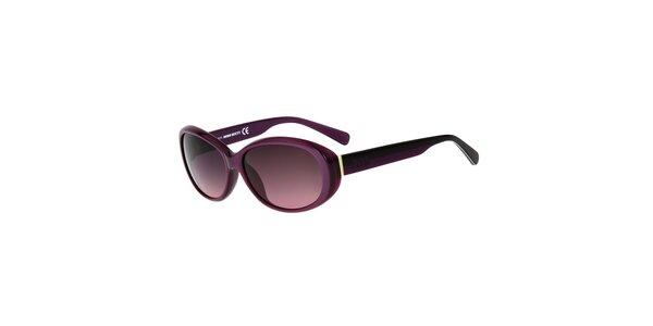 Dámské fialové plastové sluneční brýle Miss Sixty