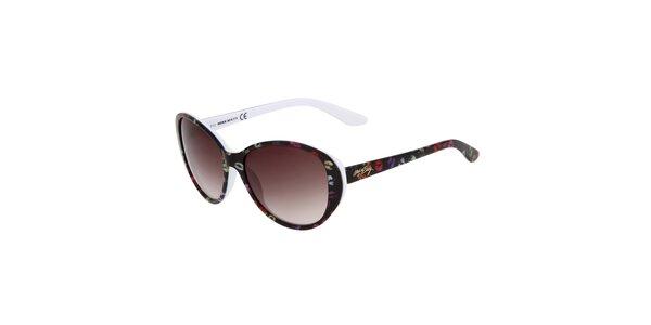 Dámské oválné barevné sluneční brýle Miss Sixty