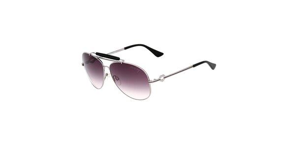 Dámské aviator sluneční brýle s černými detaily Miss Sixty