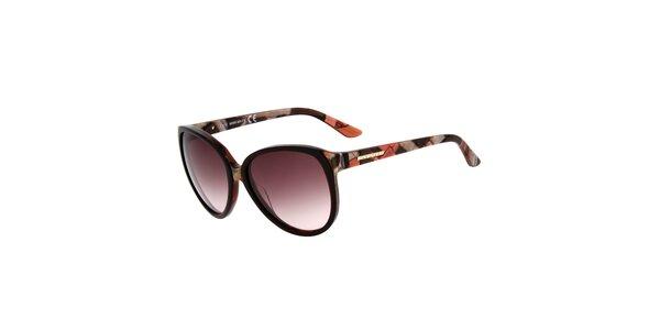 Dámské retro brýle s fialovými sklíčky Miss Sixty