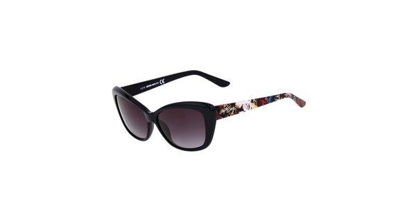 Dámské černé kočičí sluneční brýle Miss Sixty