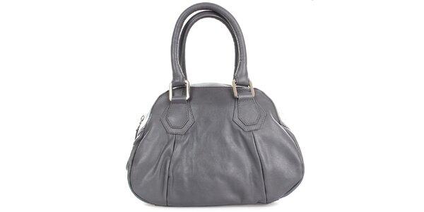 Dámská šedá kožená kabelka Gianfranco Ferré