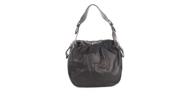 Dámská černá kožená kabelka Gianfranco Ferré