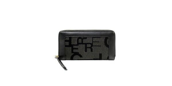Dámská podlouhlá peněženka s písmenky Gianfranco Ferré