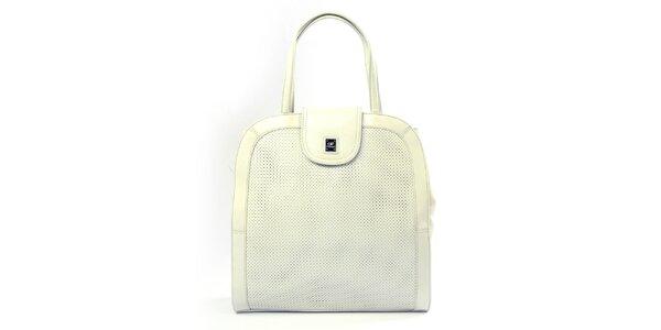 Dámská krémová kabelka s perforací Gianfranco Ferré