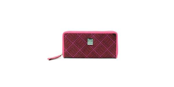 Dámská růžová podlouhlá peněženka Gianfranco Ferré
