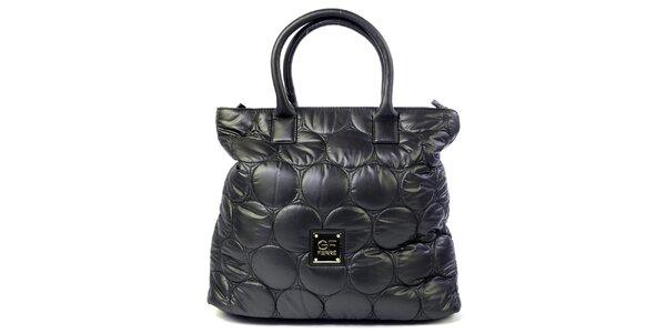Dámská černá prošívaná kabelka s kolečky Gianfranco Ferré