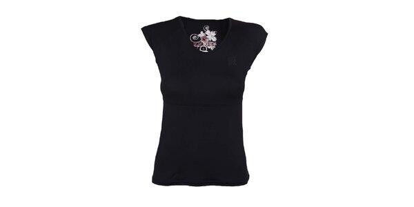 Dámské černé tričko Authority