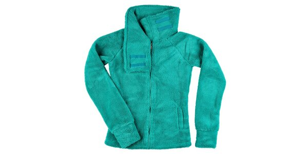 Dámská zelená fleecová bundička Stitch&Soul