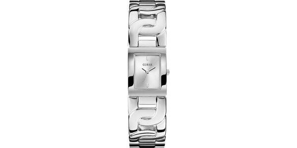 Dámské ocelové náramkové hodinky Guess