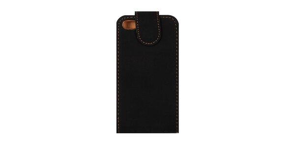 Černé pouzdro na iPhone 4/4S