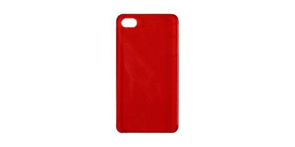 Červené plastové pouzdro na iPhone 4/4S