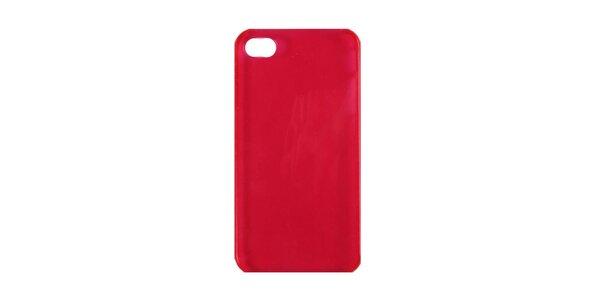 Růžové plastové pouzdro na iPhone 4/4S