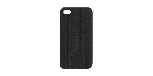 Černé silikonové pouzdro na iPhone 4/4S