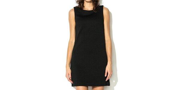 Dámské krátké černé šaty Eccentrica