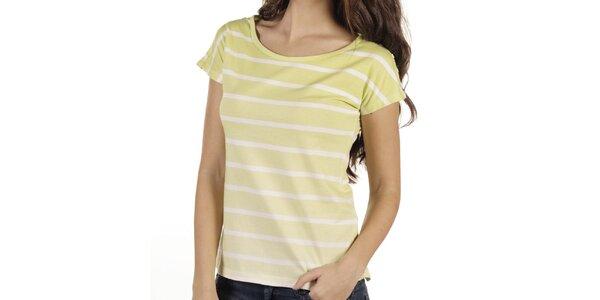 Dámské proužkované tričko New Caro