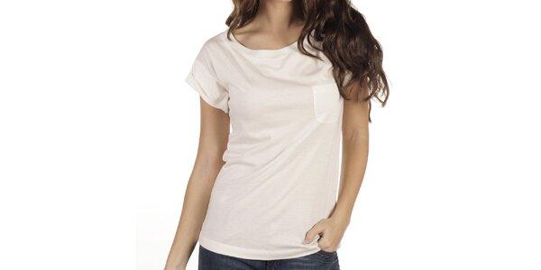 Dámské krémově bílé tričko New Caro