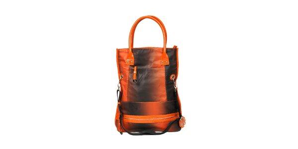Sportovní kabela značky Doca v oranžové barvě