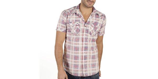 Pánská kostkovaná košile New Caro
